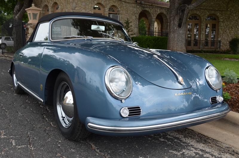 1957 Porsche 356a Cabriolet Restoration