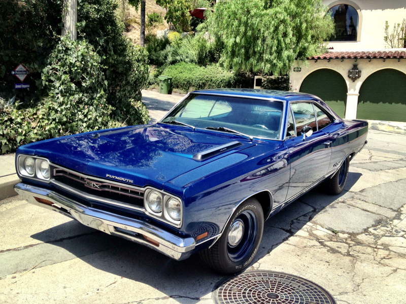 1969 Plymouth GTX 6 Pack Matching Numbers